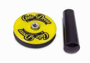 Athlon tools Garagenwandschutz 2 Stk Car Wrapping Magnete Für Fahrzeugfolierung Montage Magnete Folien Haftmagnet Folieren Folierung