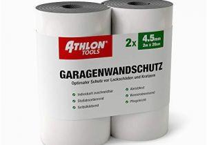 Athlon tools Garagenwandschutz athlon tools Premium Garagenwandschutz Je 2 M Lang Auto Türkantenschoner Türkantenschutz Selbstklebend Wasserabweisend