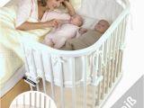 Babybay Bett Matratze tobi Babybay Maxi Beistellbett Weiss Lackiert Extrabelüftet