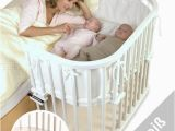 Babybay Bett tobi Babybay Maxi Beistellbett Weiss Lackiert Extrabelüftet