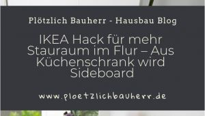 Beleuchtung Küchenschrank Garderobe Ikea Hack