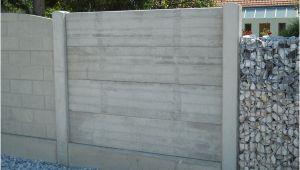 Betonfertigteile Gartenmauer Sichtschutz