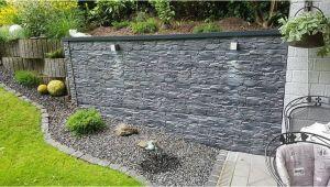 Betonmauer Garten Verputzen Mauerverkleidung Im Aussenbereich Aus Kunststoff
