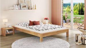 Bett 160×220 Komplett Resteschnäppchen überlänge Bett 160×220 Buche Bettgestell Massiv Ohne Zubehör Leonie 160×220