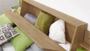 Bett Kopfteil Erhöhen Bett Mit Stauraum Im Kopfteil Im Landhausstil Quebo