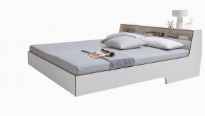 Bett Mit Stauraum 180×200 Weiß Slope Bett Weiss