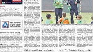 Betten Vogt Bremen Sebaldsbrücker Heerstr Weser Report Mitte Vom 19 11 2017 by Kps