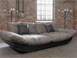 Big sofa L form Roller Big sofa Couch Liegewiese Wohnlandschaft