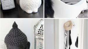 Buddha Deko Schlafzimmer Black & White