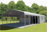 Carport Garagen Kombination Garage Buildings $695 Carports Garages Custom Metal