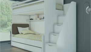 Cinderella Premium Bett Quer 90×200 Kiefer Weiß Kinderbett Fuer 2
