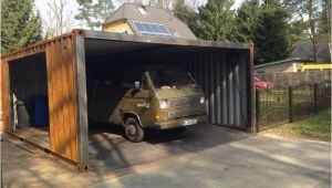 Container Als Garage Ein Container Als Garage Containerbasis