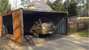 Container Garage Preis Ein Container Als Garage Containerbasis