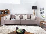 Design Xxl sofa Big sofa island Design Xxl sofa Big sofa island In Greige Strukturstoff Inkl