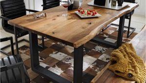 Esstisch Holz Zum Kaufen Schöner Esstisch Mit Baumkante Aus Akazie Massivholz Zum