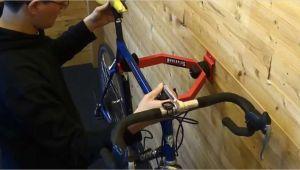 Fahrradaufhängung Garage Wandhalterung Fahrrad In Action Fahrradwandhalterung