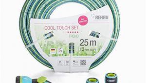 Flexschlauch Garten Test Rehau Cool touch Gartenschlauch ½ Zoll 13mm 25m Inkl