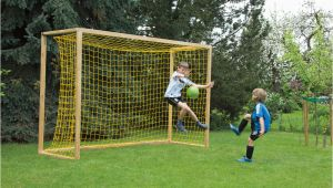Fußballtor Garten Kinder Fußballtor Selbst Bauen