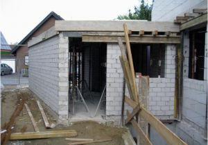 Garage Betondecke Der Erste Teil Der Betondecke ist Drauf