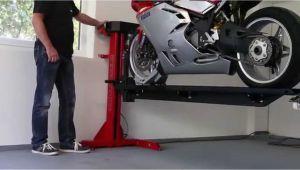 Garage Für Hebebühne Moto Lift 400 Ld Motorrad Hebebühne Für Garage