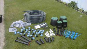 Garten Bewässerung Unterirdisch Verlegen Bewässerungsanlage Garten