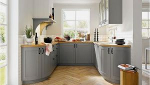 Grau Kuche Ideen Engels Wunderbar Küchen In U form Kueche Grau Landhaus