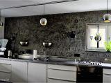 Graue Küche Mit Holzarbeitsplatte Kuchen Grau Holz
