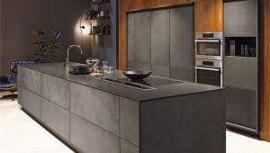 Graue Küche Nobilia Kuchen Grau Holz