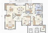 Grundrisse Bungalow Mit Garage Bungalow Grundriss 4 Zimmer Mit Garage