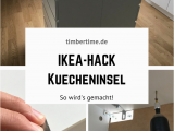 Hacker Kuche Ideen Usa Mit Einem Einfachen Ikea Hack Eine Günstige Kücheninsel