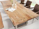Hängelampe Esstisch Holz Esstisch Baumstamm Tisch Mammut Akazie Massivholz