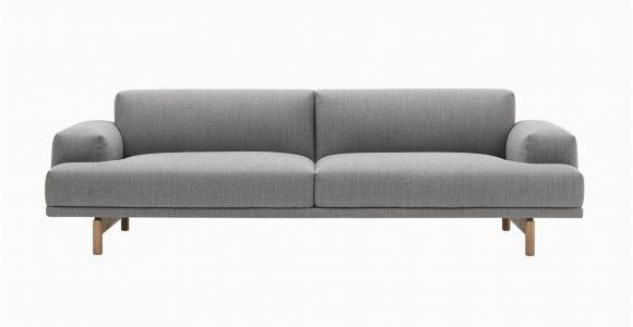 Hay Schlafsofa Muuto Pose 3 Sitzer sofa