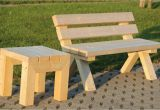 Holzbänke Mit Tisch Für Garten Miller Einrichtungen Massive Holzbank Mit Hocker