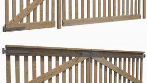 Holztor Gartenzaun Gartenzaun Gartentor Holztor Doppelflügeltor Einfahrtstor