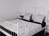 Ikea Hemnes Schlafzimmer Ideen My Bedroom In Black and White the Bed and the Side Tables