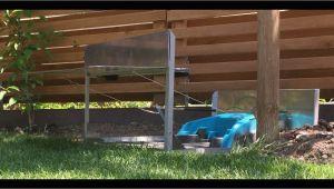 Industriebodenbelag Für Garagen Garage Für Mähroboter Gardena R40li Mit Klapptor
