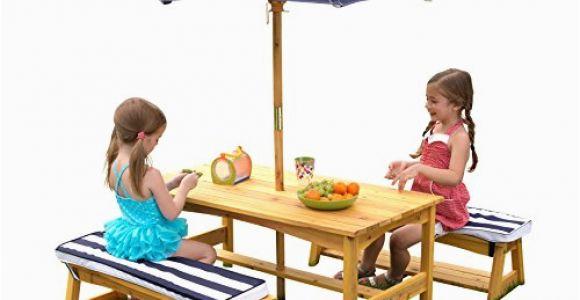 Kinderbank Garten Mit Schirm sonnenschirm Gestreift – Das Beste Für Den Garten 2019