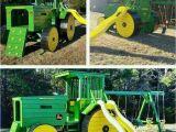 Kinderspielzeug Garten Gebraucht Spielplatz Traktor