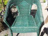 Korbmöbel Garten Gebraucht Korbmöbel Für Draußen 1 Stuhl Grün In Ludwigsburg