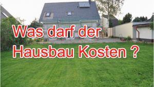 Kosten Garage Beim Hausbau Haus Bauen Kosten Im Vergleich – Baukosten Von 80