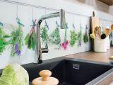 Küche Arbeitsplatte Ideen Lieblingsmotive Auf Der Küchenrückwand Unterstreichen Den