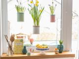 Küche Dekorieren Ideen Fenster Deko Fruhling