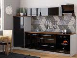 Küche Weiß Schwarz Hochglanz Kuchen Grau Holz