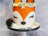 Kuchen Lustige Ideen 34 tolles Foto Von Fox Birthday Cake Geburtstag Kuchen
