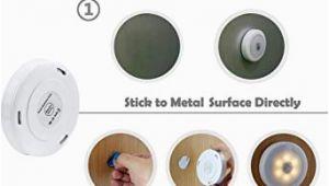 Küchenlampe Lang soaiy 4er Set Warmweiß Led Nachtlicht Mit touchsensor Dimmbar Batteriebetrieben touch Lampe Schrankleuchte Küchenlampe 2800k