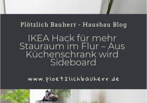 Küchenschrank Kaufen Garderobe Ikea Hack