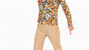 Küchentisch 70er Jahre Herren Groovy 70er Jahre Shirt Mit Blasenmuster Für Herren