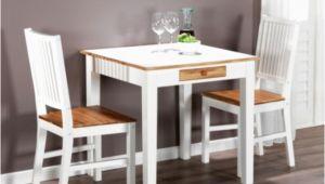 Küchentisch Mit 2 Stühlen Anleitung Esstisch Klein Ausziehbar Erweiterbar Weiss Neu Modern