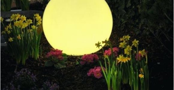 Leuchtkugel Garten Farbwechsel Leuchtkugeln Garten Insatech Leuchtkugel Planet Granit