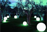 Leuchtkugel Im Garten Led Leuchtkugel Garten Wasserfest Kugelleuchten Garten